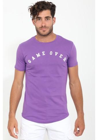 Ανδρικό T-shirt Game Purple