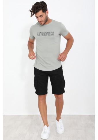 Ανδρικό T-shirt Fine Khaki
