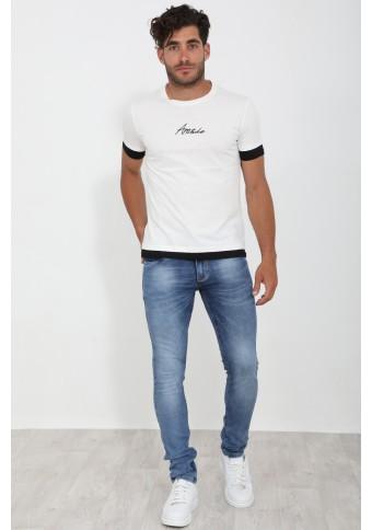 Ανδρικό T-shirt Many Ecru