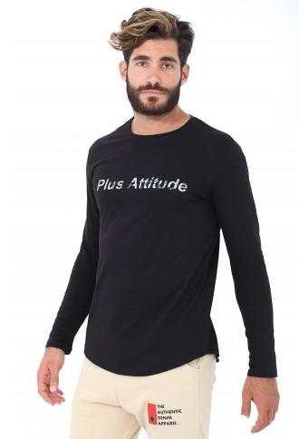 Ανδρική Μπλούζα Plus Black