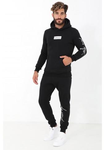 Ανδρικό Φούτερ Trendy Black