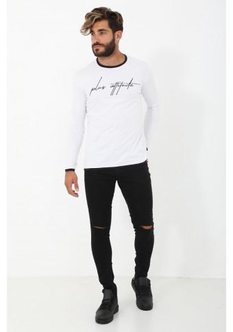 Ανδρική Μπλούζα Some White