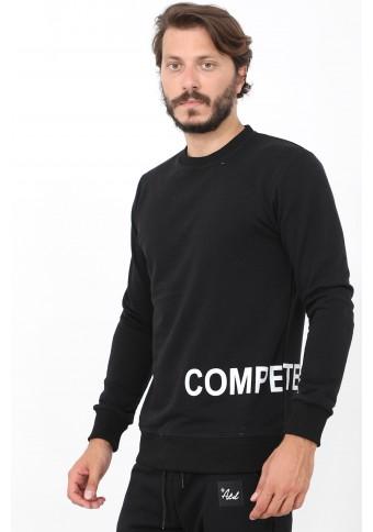 Ανδρικό Φούτερ Compete Black