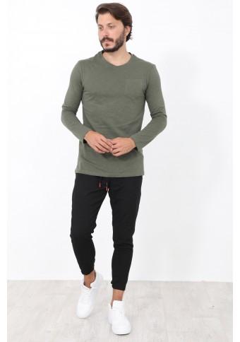 Ανδρική Μπλούζα Pocket Khaki