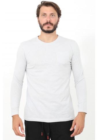 Ανδρική Μπλούζα Pocket Ice Grey