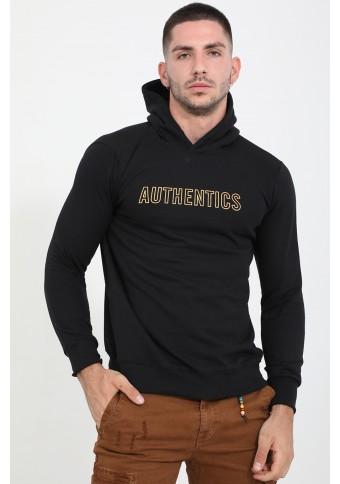 Ανδρικό Φούτερ Authentics Black