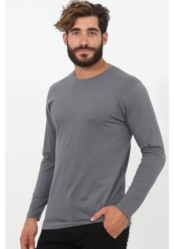 Ανδρική Μπλούζα Minimal Grey