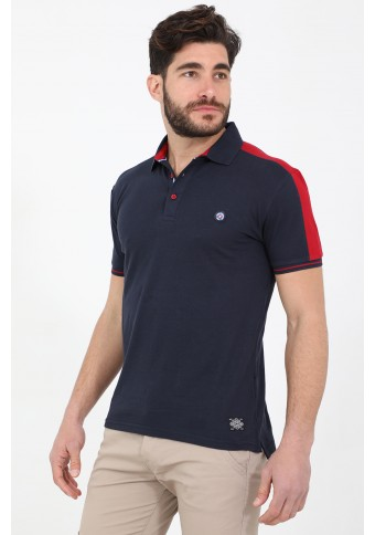 Ανδρικό Polo Give D.Blue