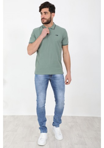 Ανδρικό Polo Peace Green