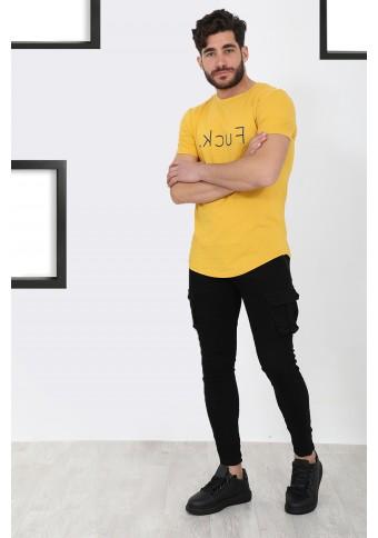 Ανδρικό T-shirt FCK Mustard