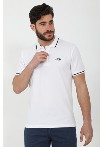 Ανδρικό Polo Peace White