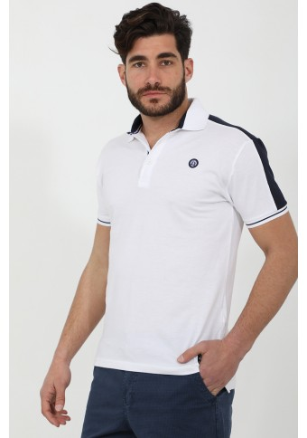 Ανδρικό Polo Give White