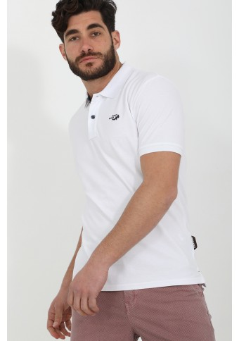Ανδρικό Polo Want White