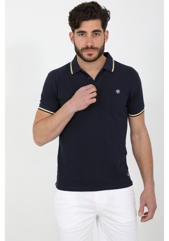 Ανδρικό Polo Both D.Blue