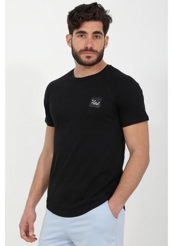 Ανδρικό T-shirt Crunch Black