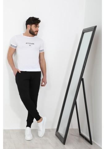Ανδρικό T-shirt Too White