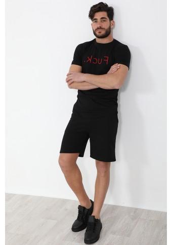 Ανδρικό T-shirt FCK Black