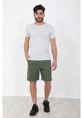 Ανδρικό T-Shirt Pocket Ice Grey