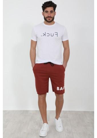 Ανδρικό T-shirt FCK White