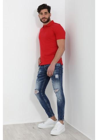 Ανδρικό Polo Kind Red