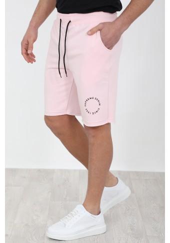 Ανδρική Βερμούδα Front Pink