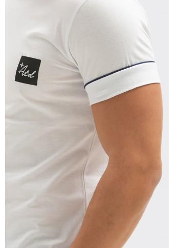 Ανδρικό T-shirt Knock White