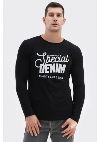 Ανδρική Μπλούζα Special Black