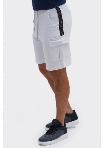 Ανδρική Βερμούδα Care White