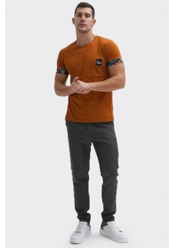 Ανδρικό T-shirt Stone Cinnamon