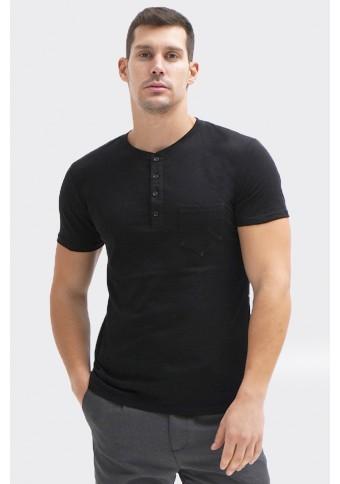 Ανδρικό T-Shirt Τall Black