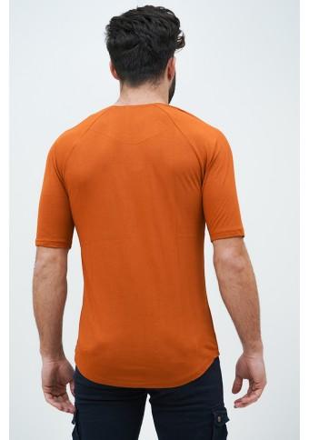 Ανδρικό T-shirt TrouaQar Cinnamon