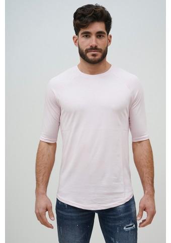 Ανδρικό T-shirt TrouaQar Pink