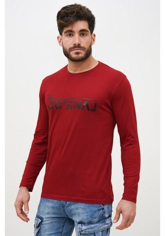 Ανδρική Μπλούζα Original Red
