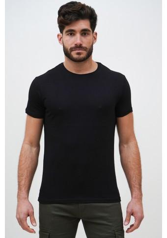 Ανδρικό T-shirt Becasual Black