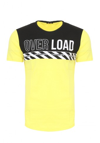 Ανδρικό T-shirt Load Yellow