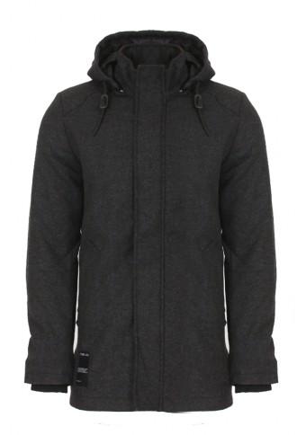 Ανδρικό Παλτό Code D.Grey