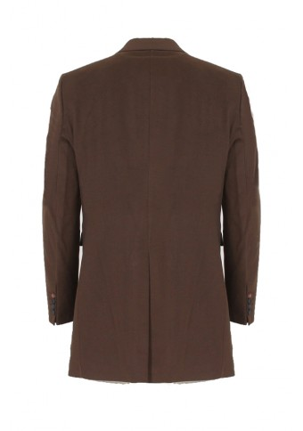 Ανδρικό Παλτό Warm Brown