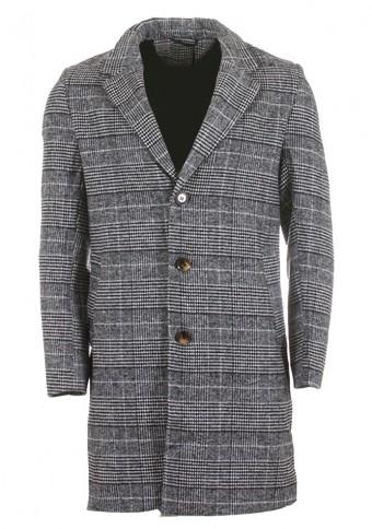 Ανδρικό Παλτό Blur Grey