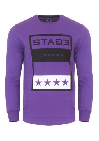 Ανδρικό Φούτερ Stage Purple