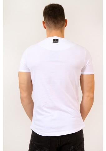 Ανδρικό T-shirt Spell White