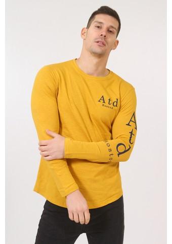 Ανδρική Μπλούζα Balance Mustard