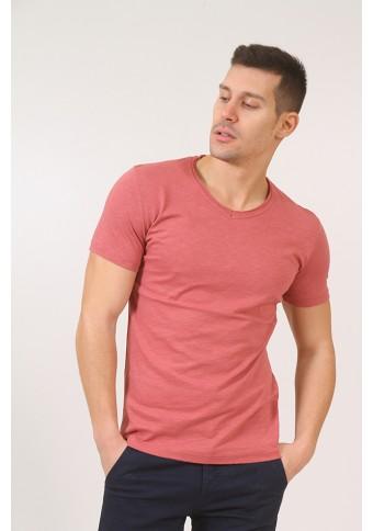 Ανδρικό T-shirt Block Coral