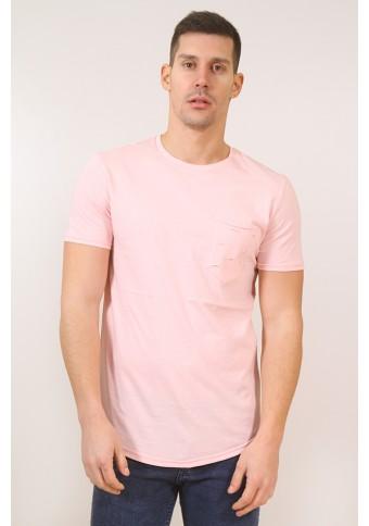 Ανδρικό T-shirt Pull Pink