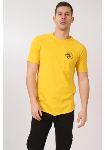 Ανδρικό T-shirt Sixty-Eight Yellow