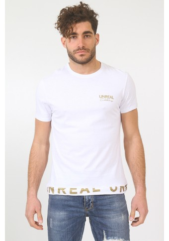 Ανδρικό T-shirt Shiny White