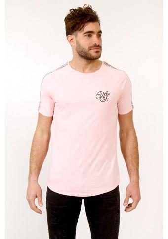 Ανδρικό T-shirt Metallic Pink
