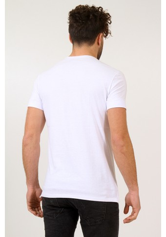 Ανδρικό T-shirt Inhale White