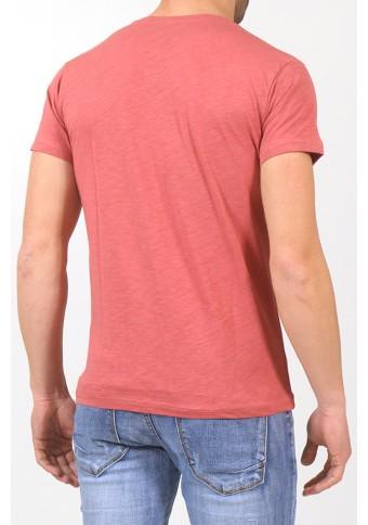 Ανδρικό T-shirt Faster Coral