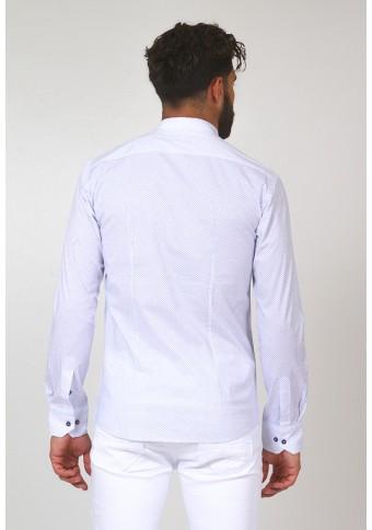 Ανδρικό Πουκάμισο Moticon White