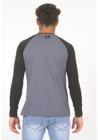 Ανδρική Μπλούζα ATD Vintage D.Grey